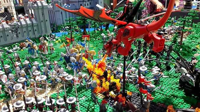 The Lego Brick Event is coming to the showgrounds on July 8 and 9.