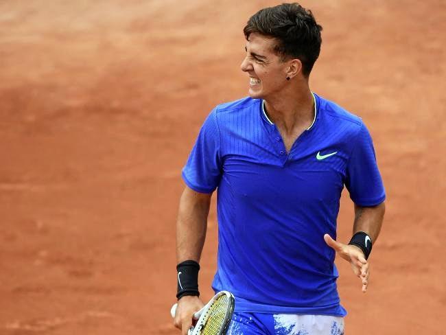 Australia's Thanasi Kokkinakis has finally returned to the winner's circle on the ATP Tour. Source:AFP