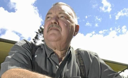 Alex Milat at his Sunshine Coast home in 2004.