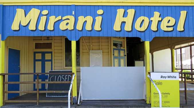The Mirani Hotel closed last month and is now up for sale.
