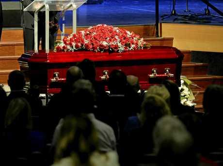 Funeral of Toowoomba businessman Treg Rowe at HumeRidge Church of Christ, Wednesday, June 14, 2017.