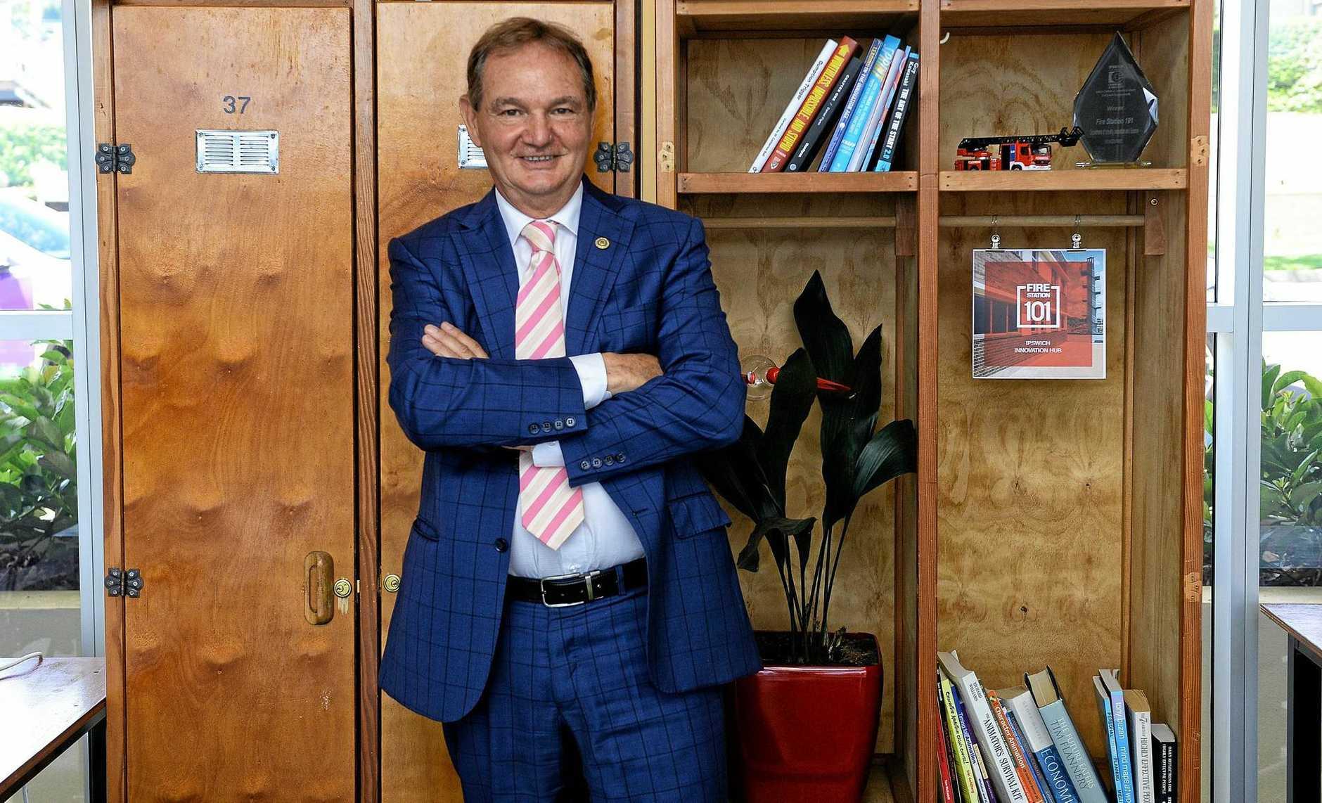 Former Ipswich Mayor Paul Pisasale.