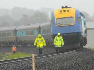 Train services return to normal after fatal collision
