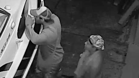 Couple filmed on CCTV having sex on boat during robbery