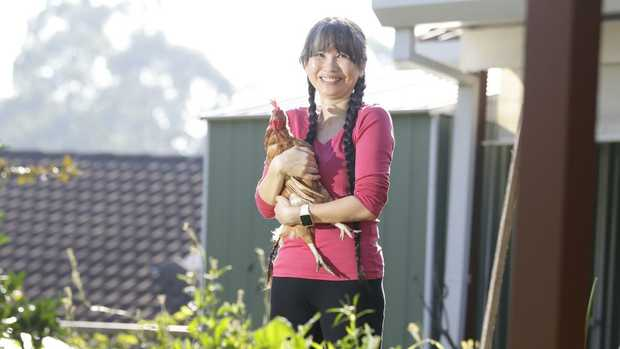 Dr Kim Loo has installed a whole lot of energy saving devices to her Baulkham Hills home. Her last energy bill was $64 for the quarter.