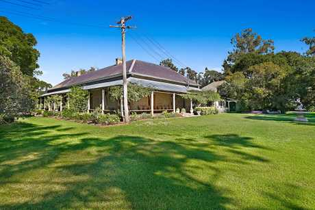 WHAT A SIGHT: A famous and historic Westbrook Homestead outside Toowoomba will go to auction next month, 150 years after it was first built in the 19th century.