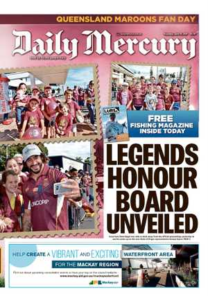 ***PICK UP A COPY of today's Daily Mercury for 87 photos from the Maroons Fan Day!***