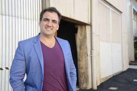 LAUNCHING SOON: After months of preparation, Spotted Cow publican Phil Coorey will launch the Mills Precinct on Saturday night, where he will also provide the official name.
