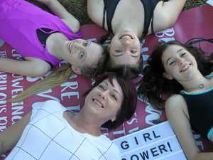 Project helps girls cope with pressure