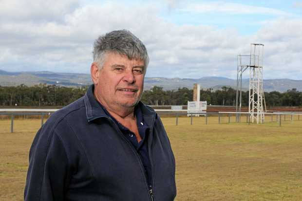 GOOD BOOST: Neil Brunckhorst has welcomed state funding for the Stanthorpe Jockey Club.
