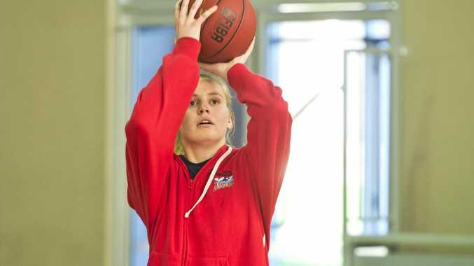 HOOP DREAMS: Tea Charlton will return for the Mountaineers this weekend after training with the New Zealand women's squad.