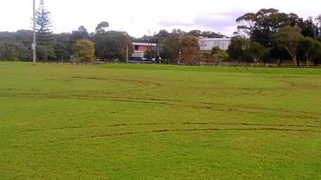 Vandals caused senseless damage to Sawtell's Richardson Park which has incensed local sporting clubs.