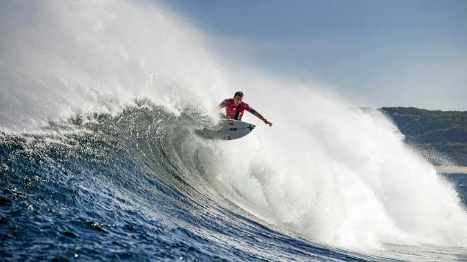 IN ACTION: Julian Wilson at a world tour event.