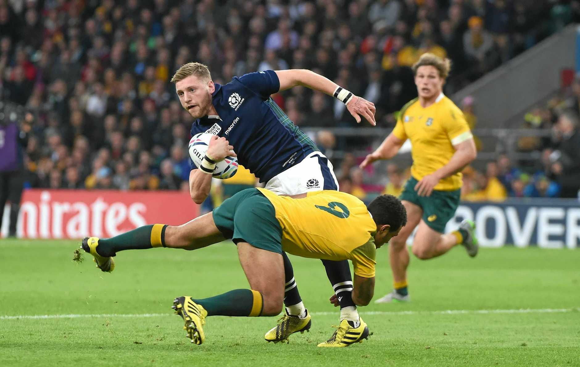 Scotland's Finn Russell is one of the survivors from the loss to Australia in the World Cup quarter-final in 2015.