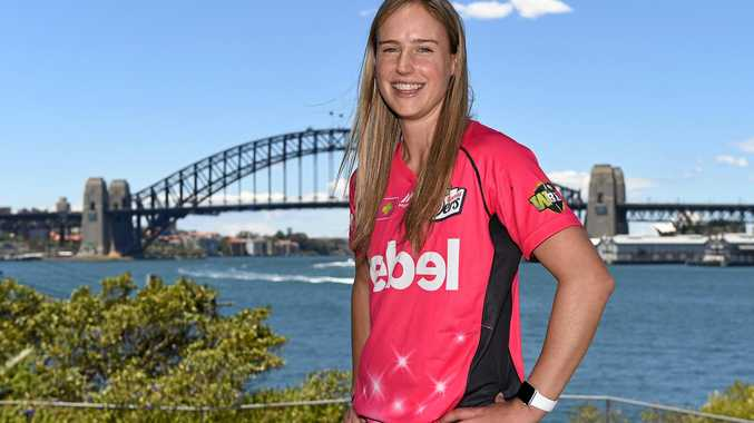 Ellyse Perry hit a century for Australia.