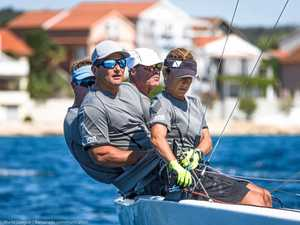 Weekend winner the Etchells with Jones close behind