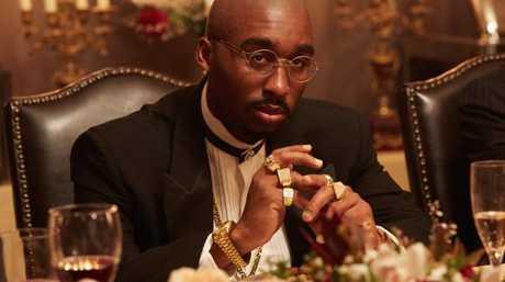 Demetrius Shipp Jr makes his acting debut as rapper Tupac Shakur.
