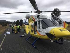 Witnesses travel 6km for help after truck crash