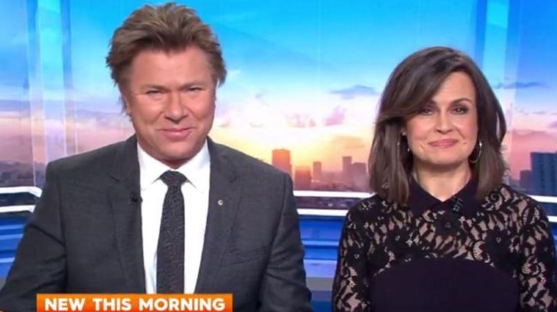 Richard Wilkins and Lisa Wilkinson were left to host the show after Karl Stefanovic made an abrupt exit.