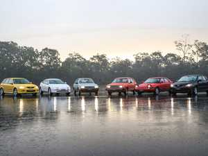 Testing 40 years of the Mazda 323 and Mazda3...in the wet