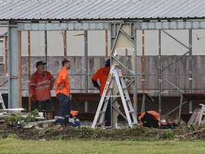 Panic as construction crews move in on historic club