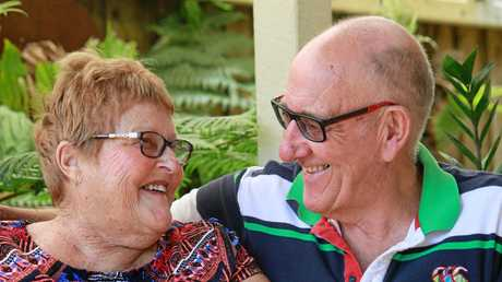 Mary Lou Houston is battling cancer and her husband Dennis is a great support for her. She is also taking part in a special palliative care support service that may be rolled out across regional Australia.