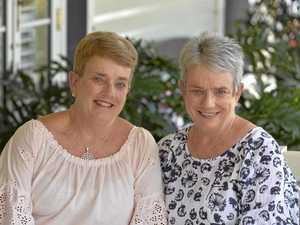 Sisters support each other through twin cancer battles