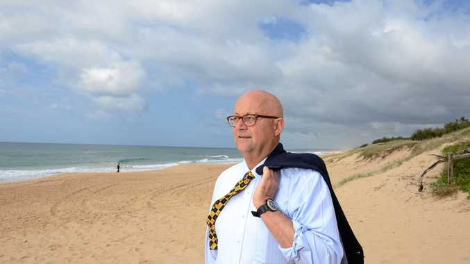ON HOME SAND: Ralph Devlin, QC, Member of the Order of Australia. Key player in the historic Fitzgerald Inquiry.