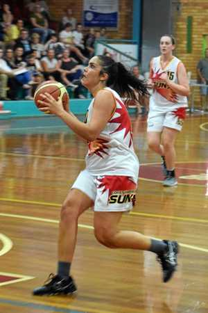 PINPOINT SHOOTER: Laura Bamford has been one of the leading scorers for the Coffs Harbour Suns so far this season.