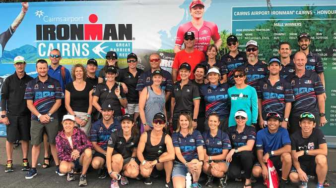 The biggest Mackay Triathlon Club contingent yet competed in the Cairns Ironman.