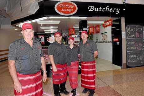 The Raw Sausage Butchery - Graham Zahl, Jessy Johnson, Jessica Burnett and Gary Zahl.