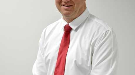 Capricornia Chamber of Commerce president Peter Fraser.