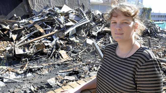 Christy Gentz lost everything after Adrenalin Climbing Gym was razed by a fire.