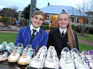 Shoes make difference to kids in Zambia