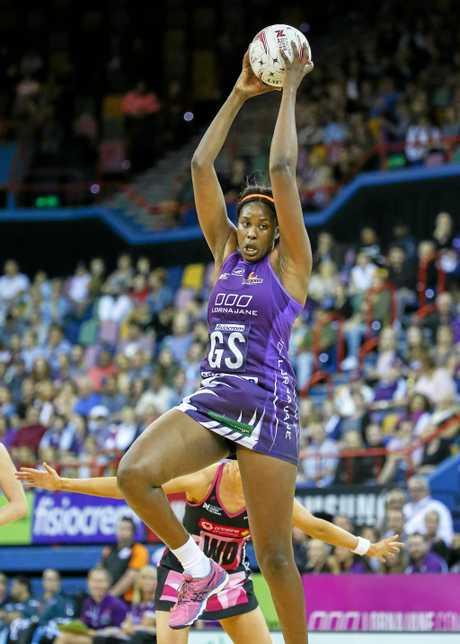 Romelda Aiken of the Firebirds.