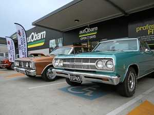 Millions of dollars worth of cars on show in Gympie