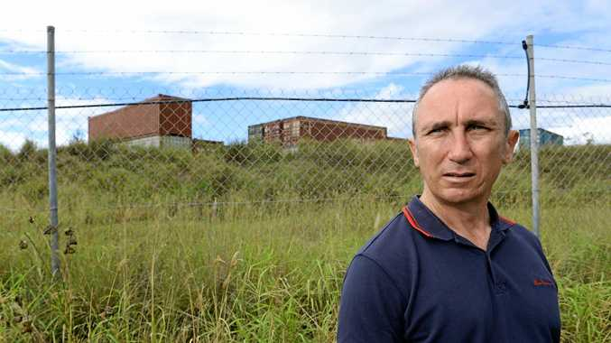 NOT IN MY BACKYARD: Jim Dodrill has fought a long battle against dumps in Ipswich.