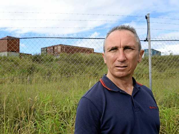 NOT IN MY BACKYARD: Jim Dodrill has fought a long battle against dumps in Ipswich.