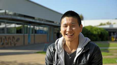 Vincent Shin says his experiences help give children a voice to share their own stories and concerns.