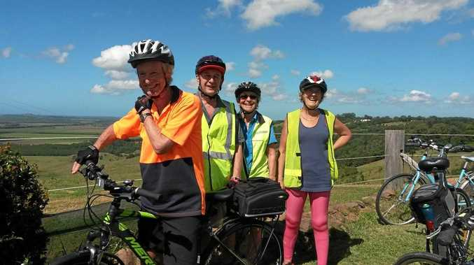 A morning ride for Northern Rivers seniors hoping for a rail trail
