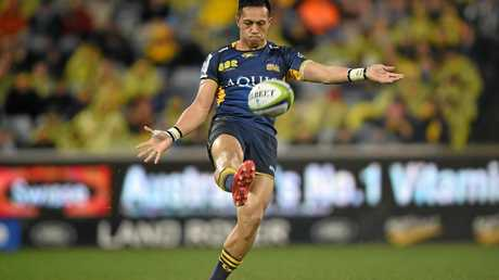 Christian Lealiifano of the Brumbies in 2016.