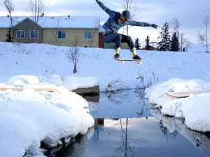 Skateboarder ready to inspire