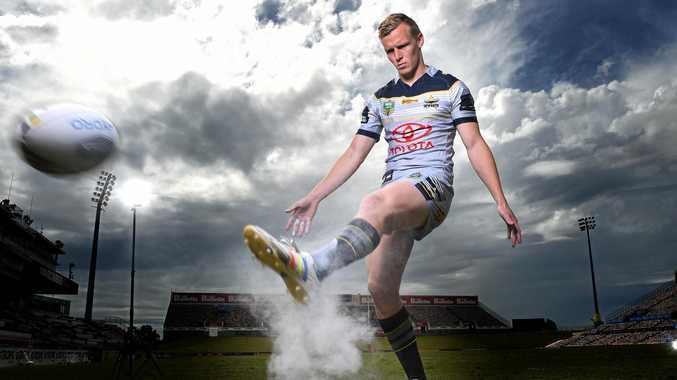 FOOTY STAR: North Queensland Cowboys young gun kyle Laybutt will make his NRL debut in Melbourne against the Storm.