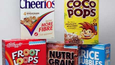 Cereal sales are declining.