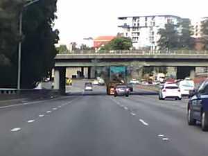 Truck hits Perth's Hay St bridge