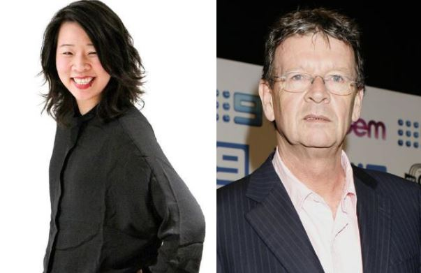 Beverly Wang and Red Symons
