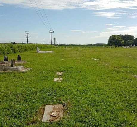 NO TOMBSTONE: There are currently 114 unmarked South Sea Islander graves at the Mackay Cemetery.
