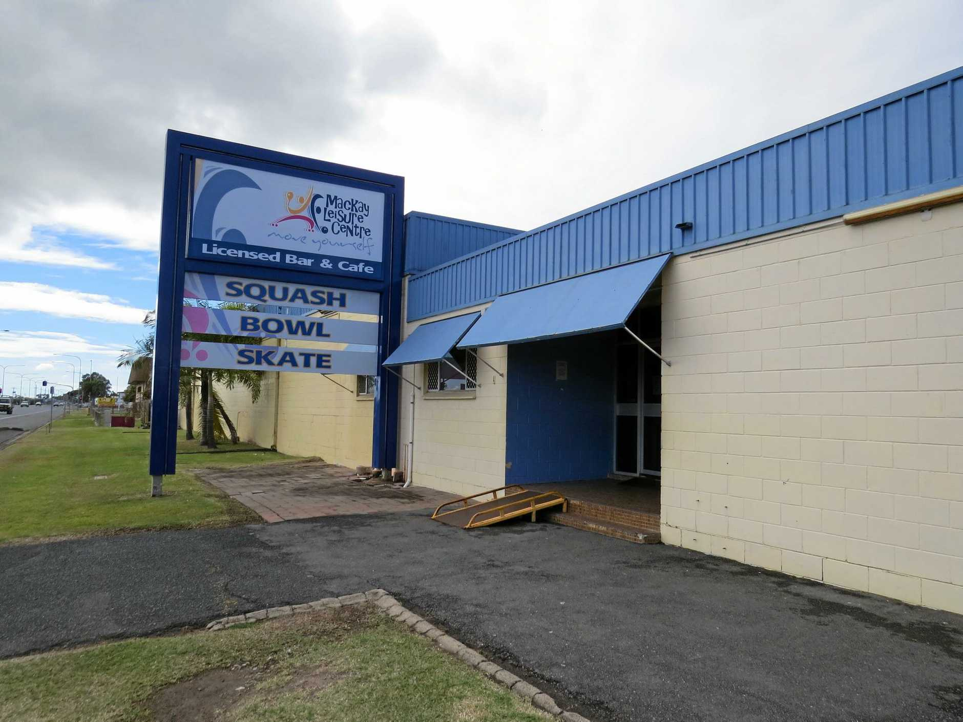 The Mackay Leisure Centre on Broadsound Road.
