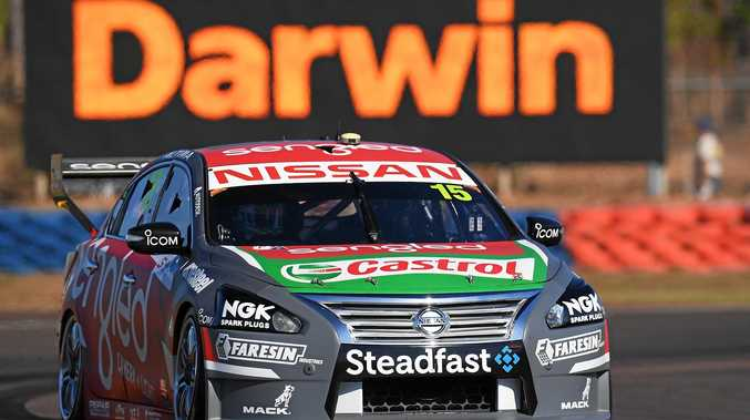 Rick Kelly drives his Sengled Racing Nissan Altima during qualifying for Race 11 at the Darwin Triple Crown.