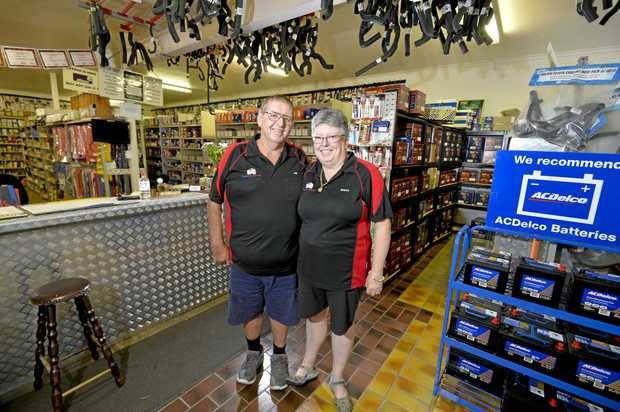 Jim and Robyn Steedman are selling their much-loved business Gladstone Auto Parts and 4WD.
